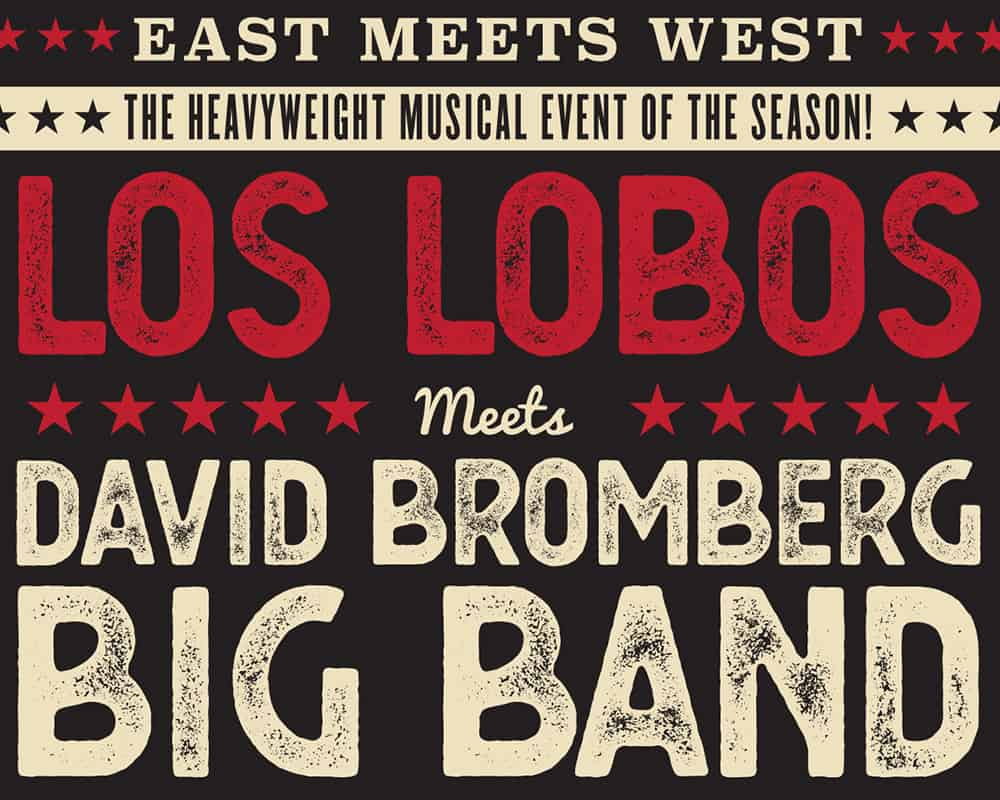 David Bromberg Big Band/ Los Lobos