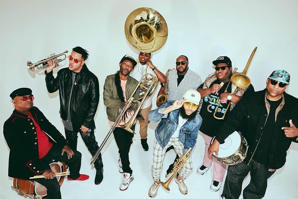 A Mardi Gras Party at Revel 32 with The Soul Rebels