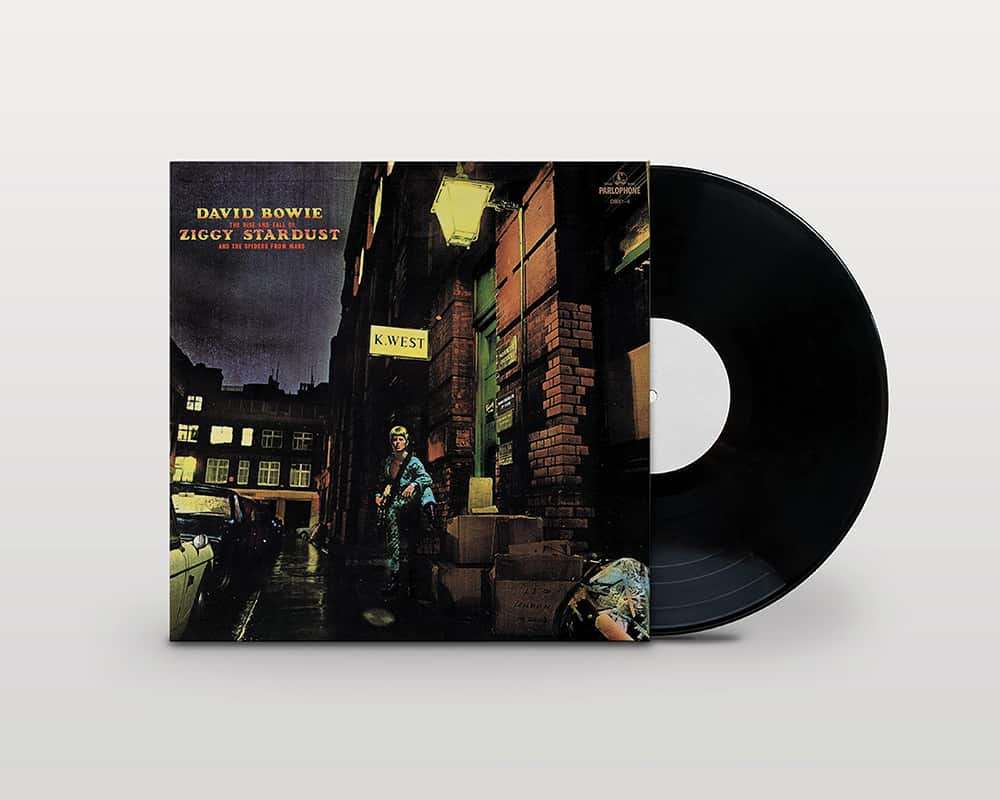 David Bowie's The Rise and Fall of Ziggy Stardust and the Spiders from Mars